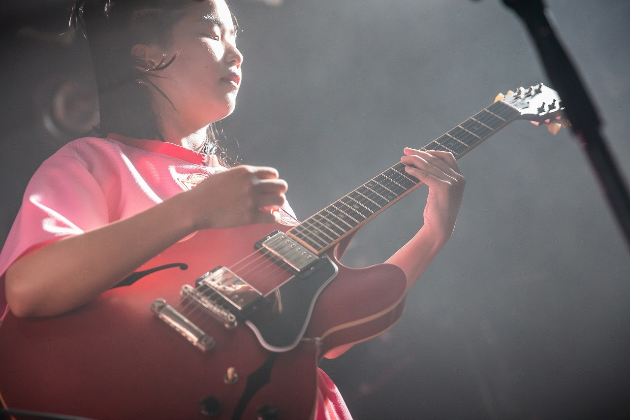 CHAI 2018.7.14 渋谷クラブクアトロ 撮影=中磯ヨシオ