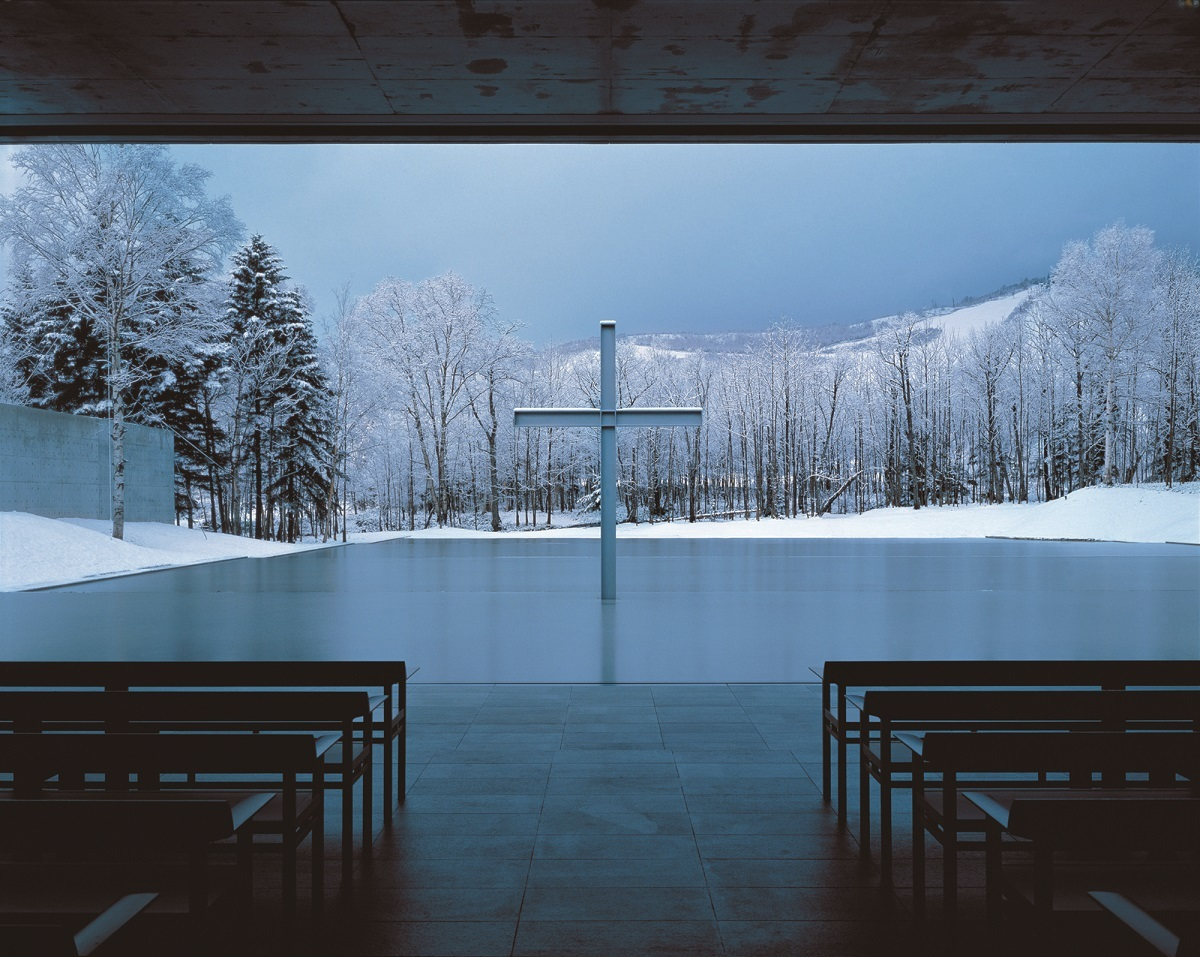 水の教会 1988年,北海道