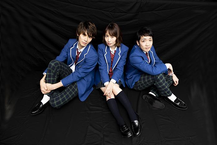 (左から)小谷嘉一、増田有華、大久保祥太郎