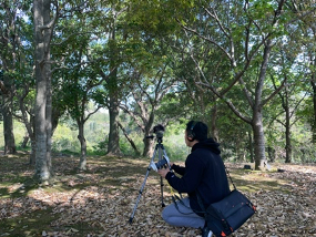 自然環境のASMR収録