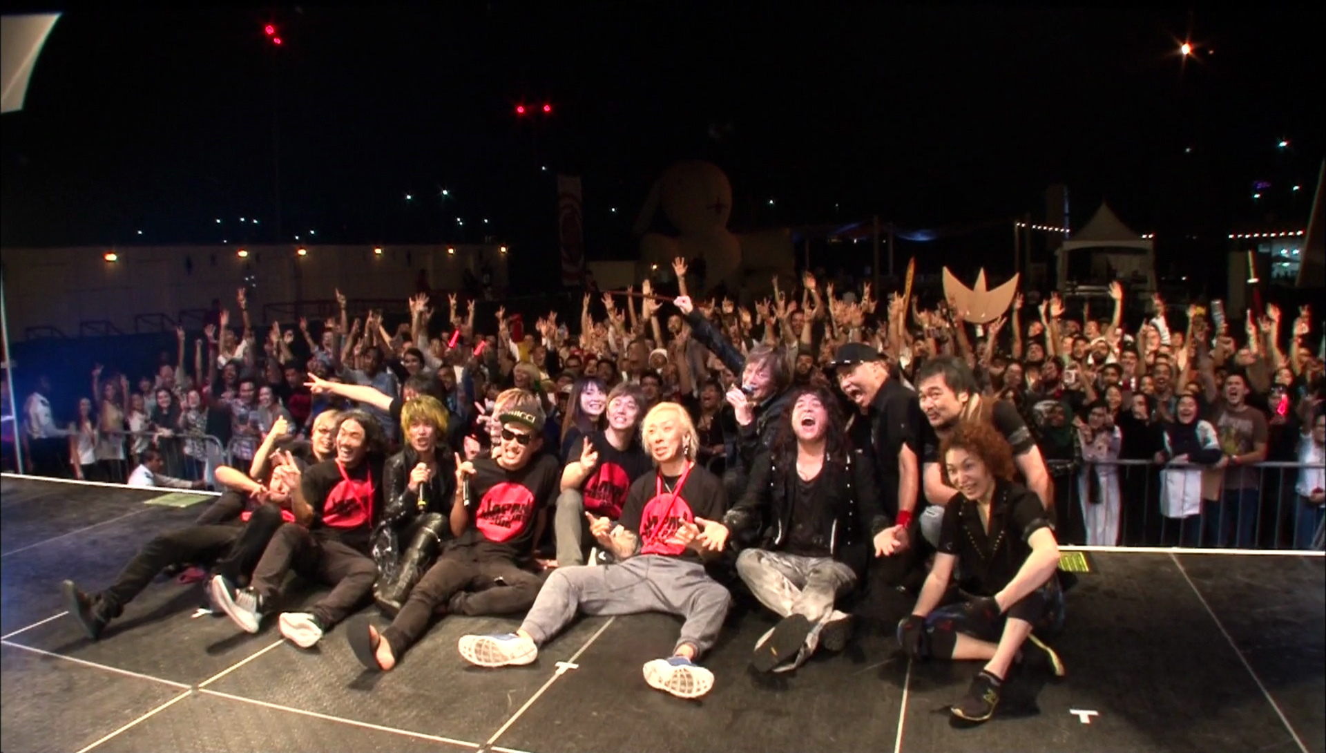 『JAM Project First Steps into the Middle East ANIME SONGS unite the world』より (C) 2016 MTDD・テレビマンユニオン