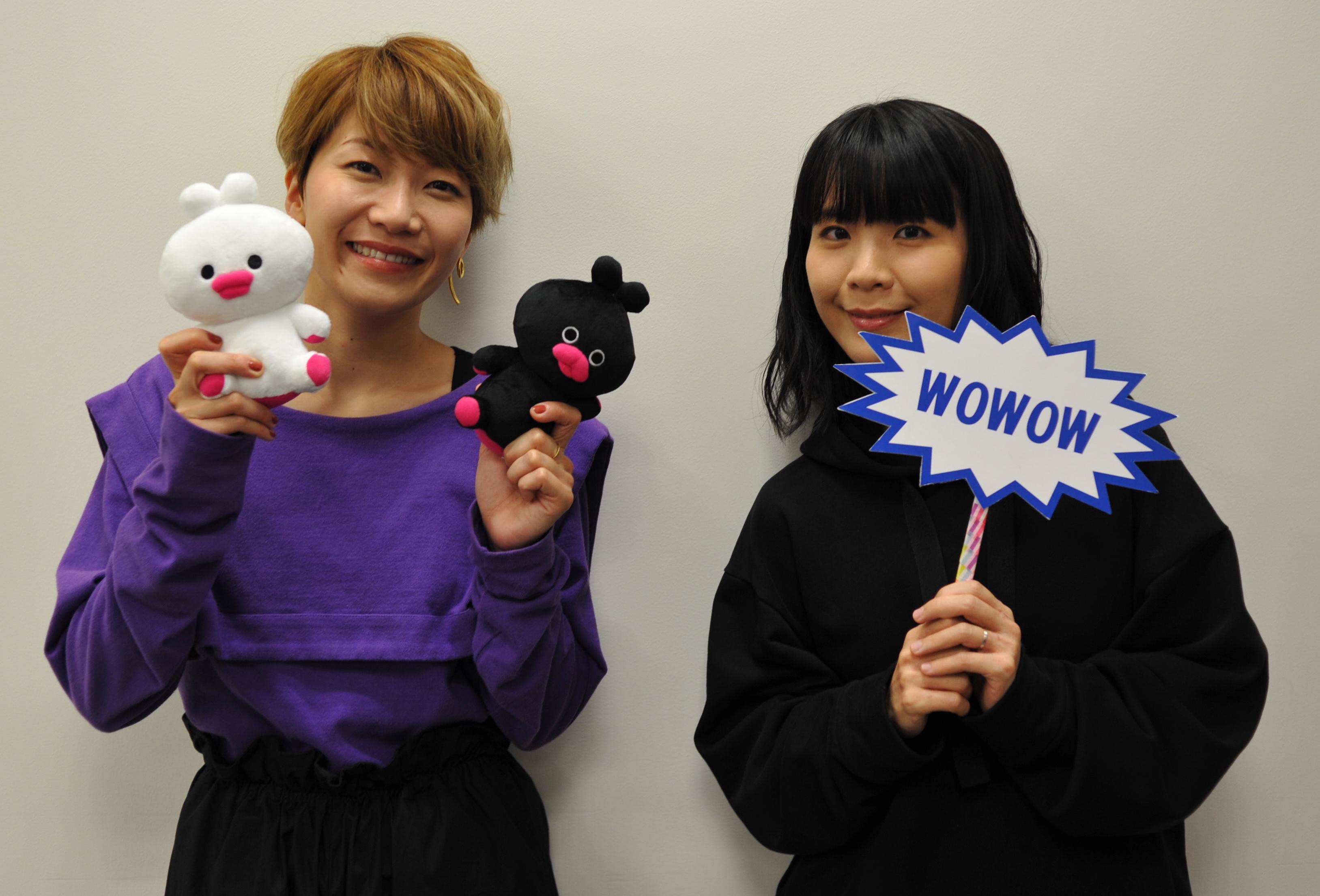 チャットモンチー (C)WOWOW・aki kondo/dwarf