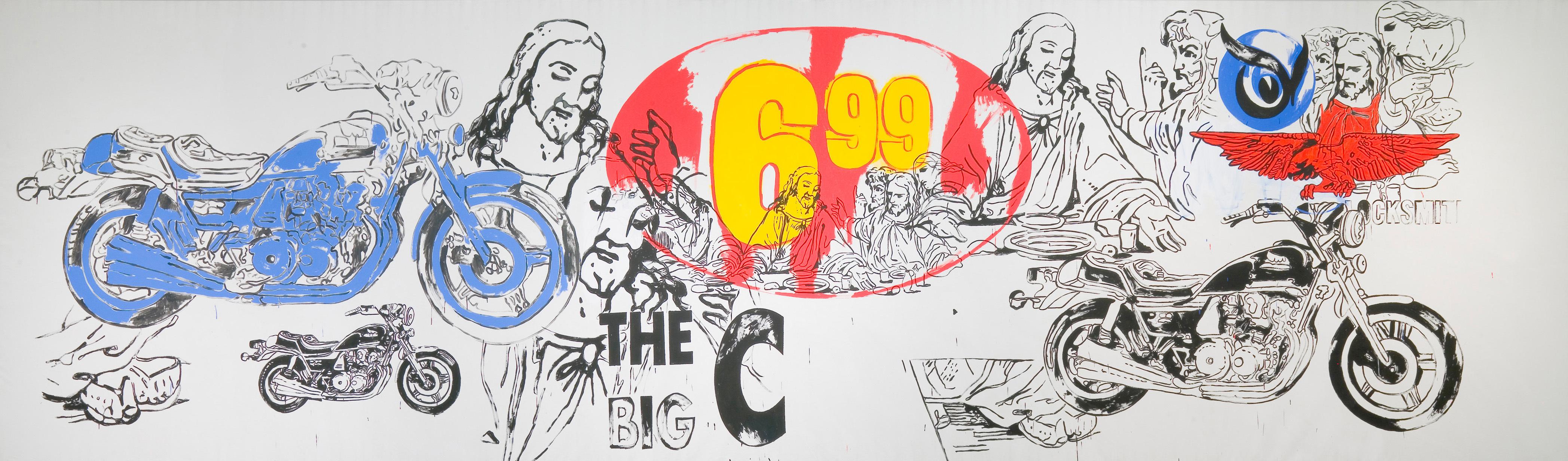アンディ・ウォーホル 《最後の晩餐》 1986年 アンディ・ウォーホル美術館蔵 (C)The Andy Warhol Foundation for the Visual Arts, Inc. / Artists Rights Society (ARS), New York