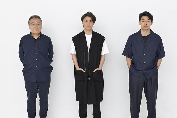 (左から)岩松了、勝地涼、仲野太賀
