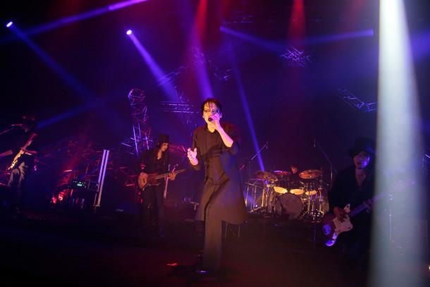 THE MORTAL「TOUR THE MORTAL 2015」最終公演の様子。(撮影:柴田恵理)
