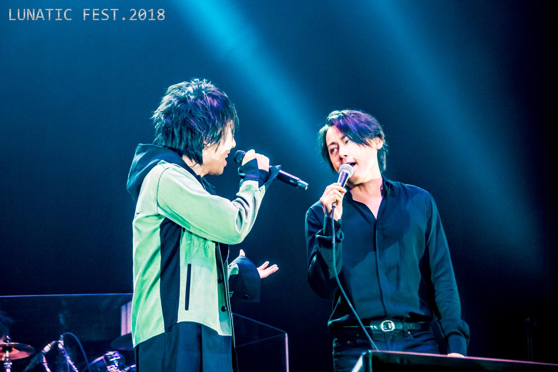 『LUNATIC FEST. 2018』マオ(シド)×RYUICHI(LUNA SEA)