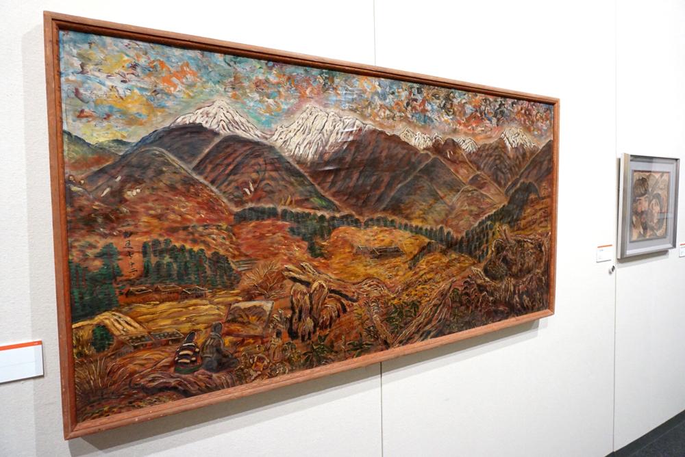 《木曽駒ケ岳》1957年(昭和32年) 須坂市蔵