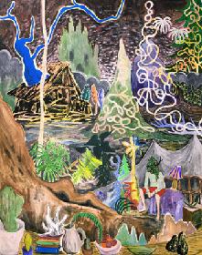 植物と人間の共存を問う、『平子雄一 特別展』 ギャラリー・WAITINGROOMで開催中