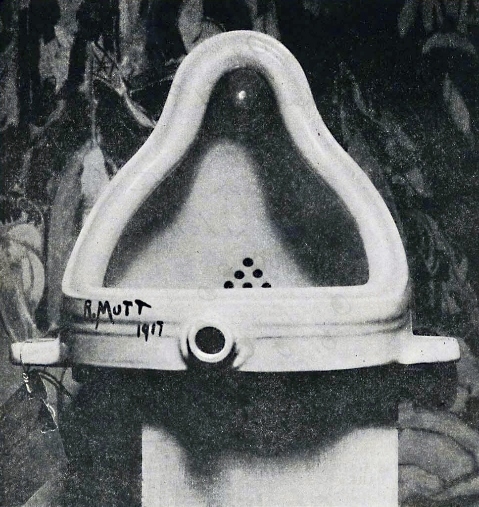 Duchamp《Fountaine》Public domain, via Wikimedia Commons