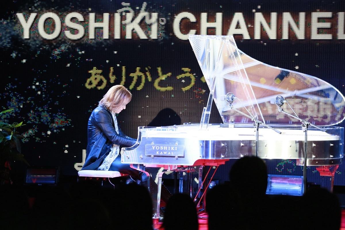 「YOSHIKI CHANNEL」