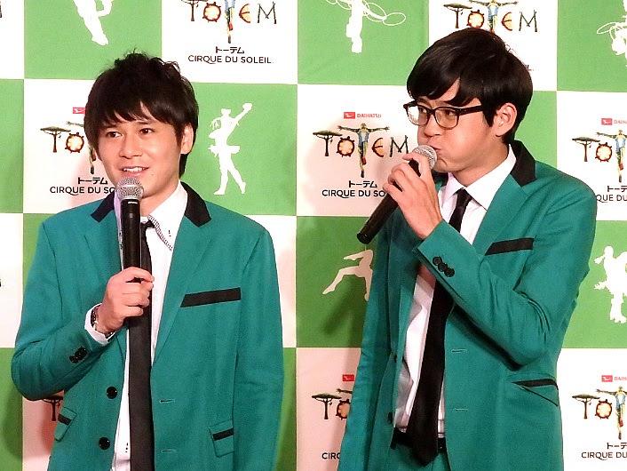 『ダイハツ トーテム』PR隊・岡山代表トット(左から多田智佑、桑原雅人)