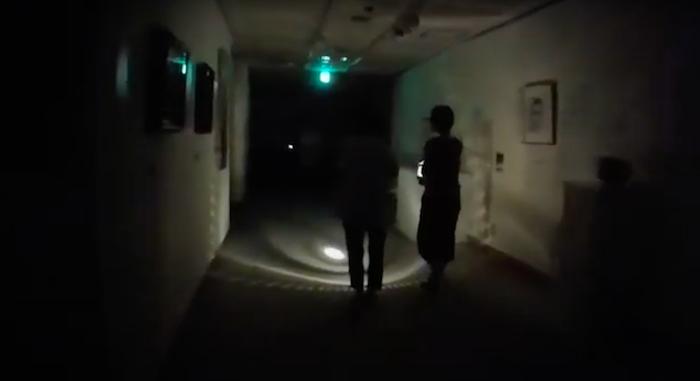 世田谷美術館【ナイトツアーon-line 2020】 ③ 「展示室の白い影」 後編 (YouTubeより)