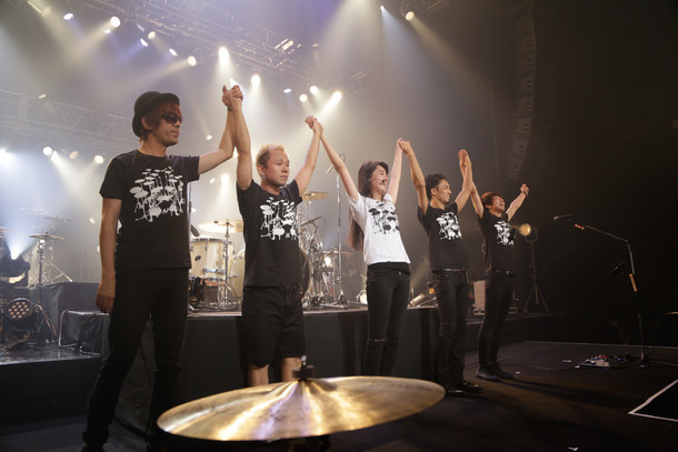 シシド・カフカ K5(Kの累乗)ワンマンライブ「ミディアム・レア」の様子。(撮影:梶田明弘)