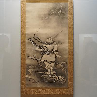 雪村周継《呂洞賓図》(重要文化財、奈良・大和文華館蔵、3月28日~4月23日展示)