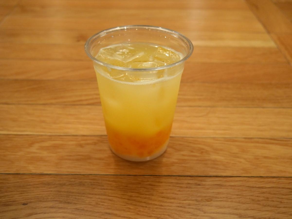 結人のオレンジカルピスソーダ