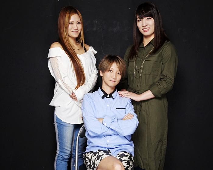 左から雪妃真矢、MARU、世羅りさ (撮影:二石友希(