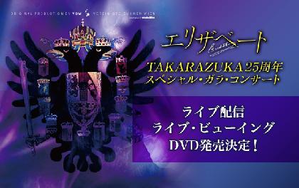 『エリザベートTAKARAZUKA25周年スペシャル・ガラ・コンサート』ライブ配信、ライブ・ビューイングが実施 DVD発売も決定