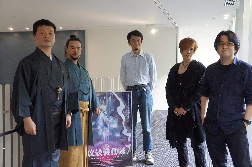 左から川口晃平、源光士郎、福地健太郎、岸田健作、奥秀太郎 撮影:神田法子