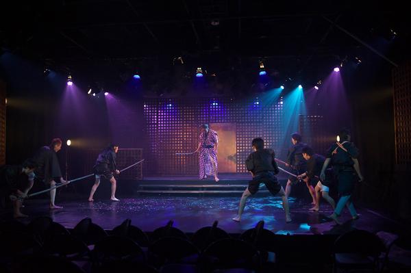 STAR☆JACKS「桜舞う夜、君想ふ」舞台写真