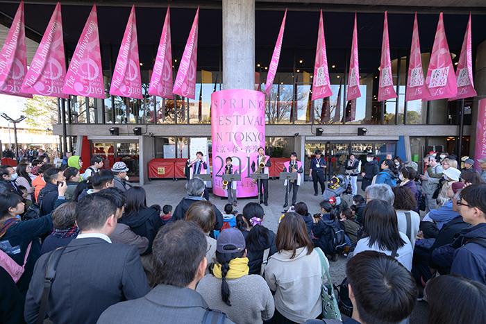 桜の街の音楽会 写真提供:東京・春・音楽祭実行委員会/撮影:飯田耕治