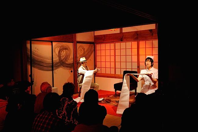M-PAD2011 江戸川乱歩『赤い部屋』 上演/このしたやみ  撮影:松原豊