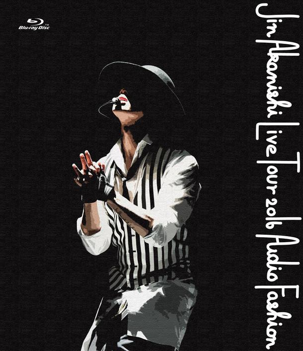 赤西仁「JIN AKANISHI LIVE TOUR 2016 ~Audio Fashion Special~ in MAKUHARI」初回限定盤Blu-rayジャケット