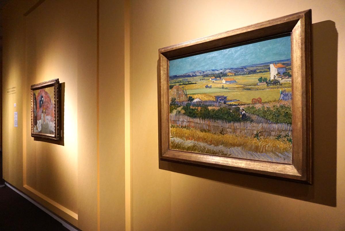 収穫》フィンセント・ファン・ゴッホ/ファン・ゴッホ美術館(フィンセント・ファン・ゴッホ財団) ©Van Gogh Museum, Amsterdam (Vincent van Gogh Foundation)