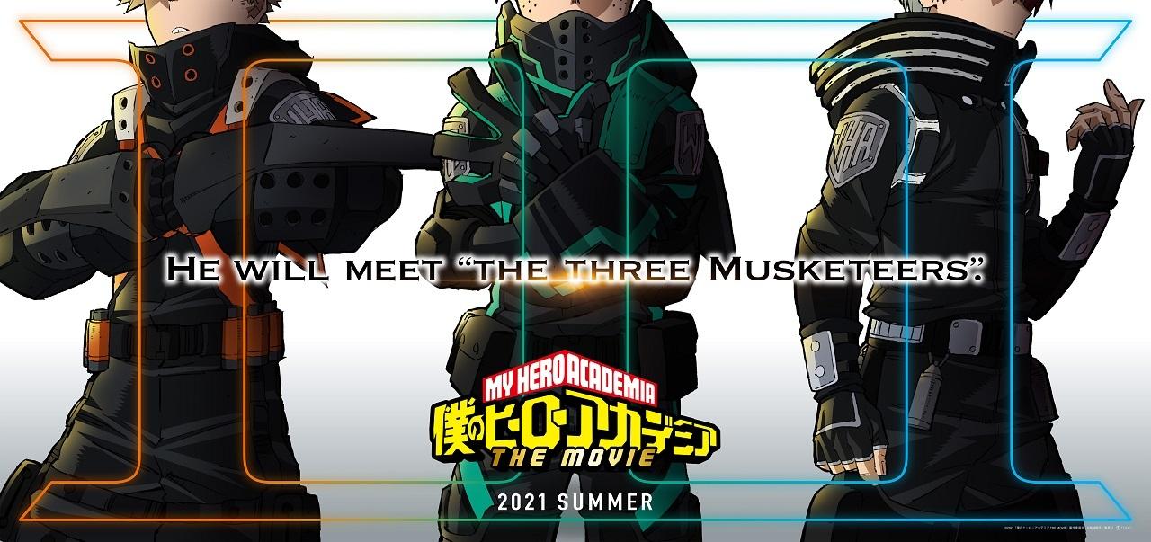 (C)2021「僕のヒーローアカデミア THE MOVIE」製作委員会 (C)堀越耕平/集英社