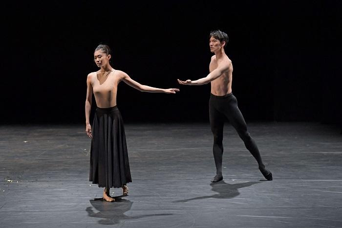 ダンス「舞姫と牧神たちの午後 2021」『Danae』  撮影:鹿摩隆司