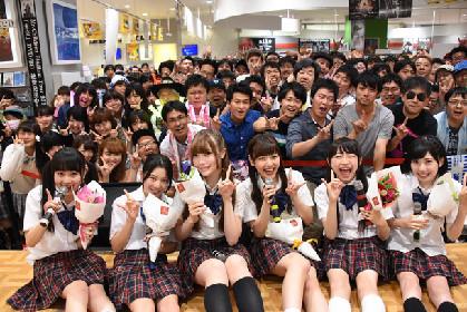 乙女新党最後のリリースイベント、聖地タワレコ錦糸町でうれしさ&達成感の涙