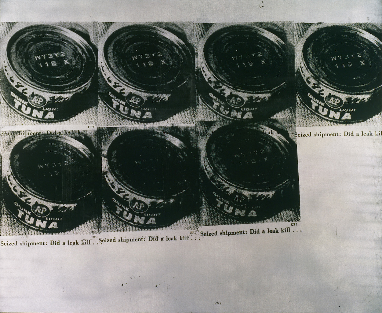 アンディ・ウォーホル 《ツナ缶の惨事》 1963年 アンディ・ウォーホル美術館蔵 (C)The Andy Warhol Foundation for the Visual Arts, Inc. / Artists Rights Society (ARS), New York