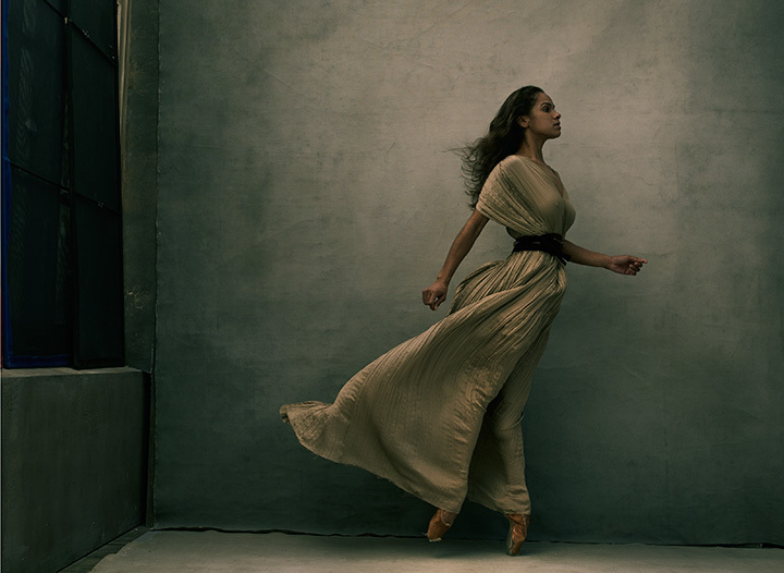 Misty Copeland, New York City, 2015 ©Annie Leibovitz. From WOMEN: New Portraits, Exclusive Commissioning Partner UBS