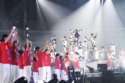 EXILE、岩手・釜石市立釜石東中学校の生徒と「Rising Sun」をパフォーマンス