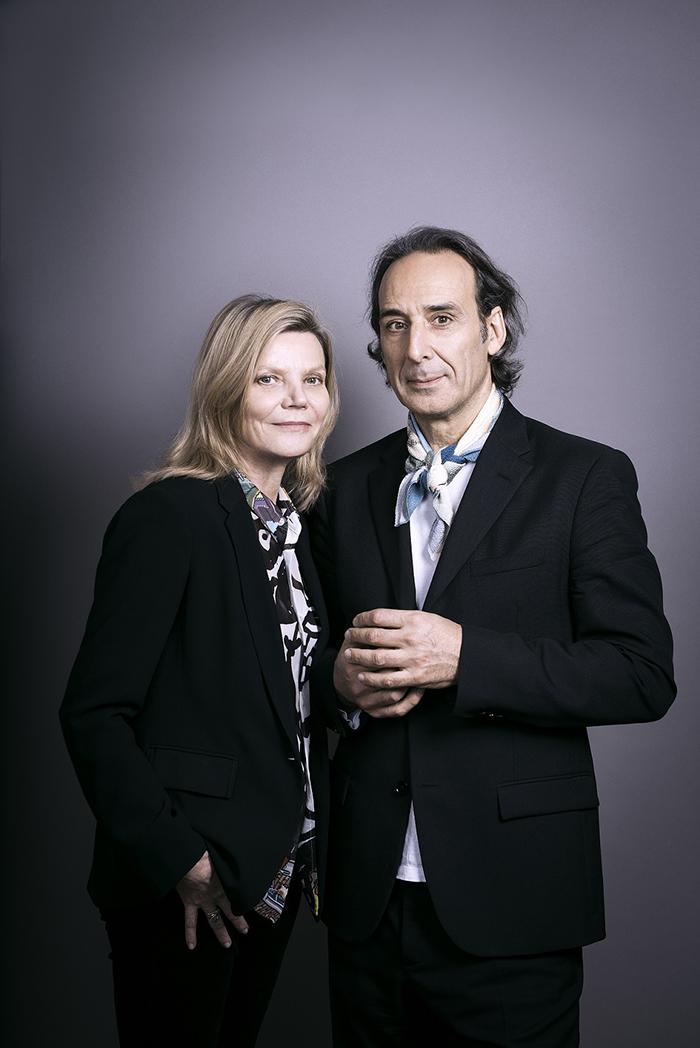 (右)アレクサンドル・デスプラ&ソルレイ(左)
