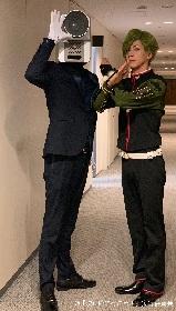 実写『映画刀剣乱舞』×NO MORE映画泥棒、3週連続コラボマナーCMの上映が決定 刀剣男士8振りがカメラ男を取り締まる