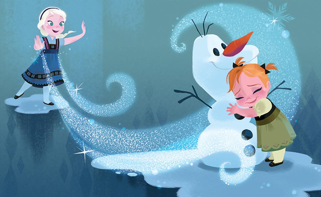 《アナと雪の女王》より 2013年 (C)Disney Enterprises, Inc.