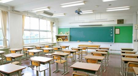ボケ展示場所:世田谷ものづくり学校301教室(2−A)の机の上
