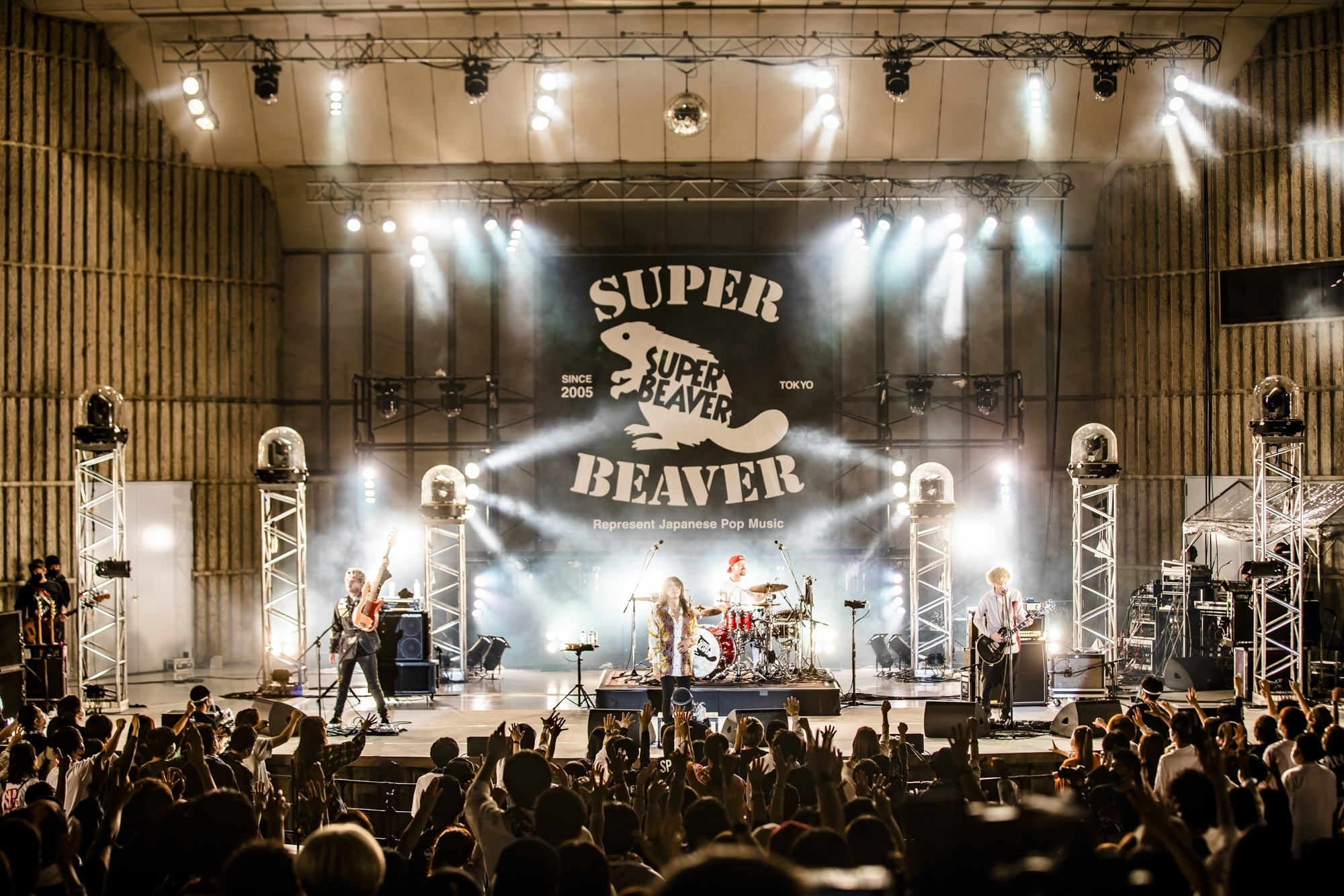 SUPER BEAVER 撮影=青木カズロー