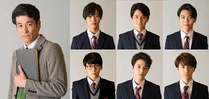 (左) 佐藤隆太 (上段左から) 佐藤新、瀬戸利樹、影山拓也(下段左から) 基 俊介、三宅亮輔、市川理矩