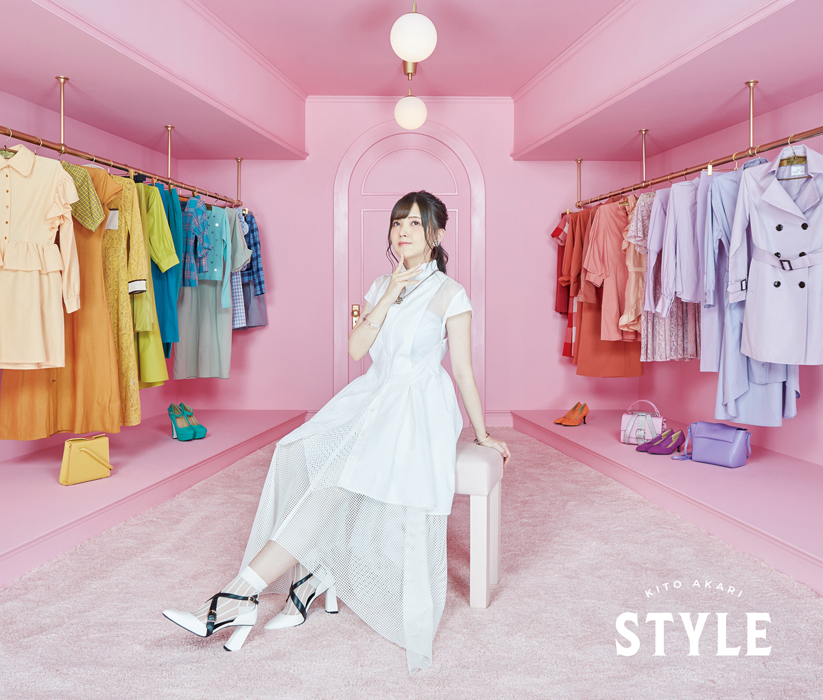 鬼頭明里1stアルバム「STYLE」初回限定盤ジャケット写真