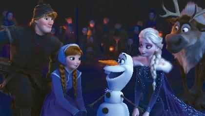 『アナ雪』アナとエルサが初めて一緒に歌う!『アナと雪の女王/家族の思い出』本編映像を一部解禁