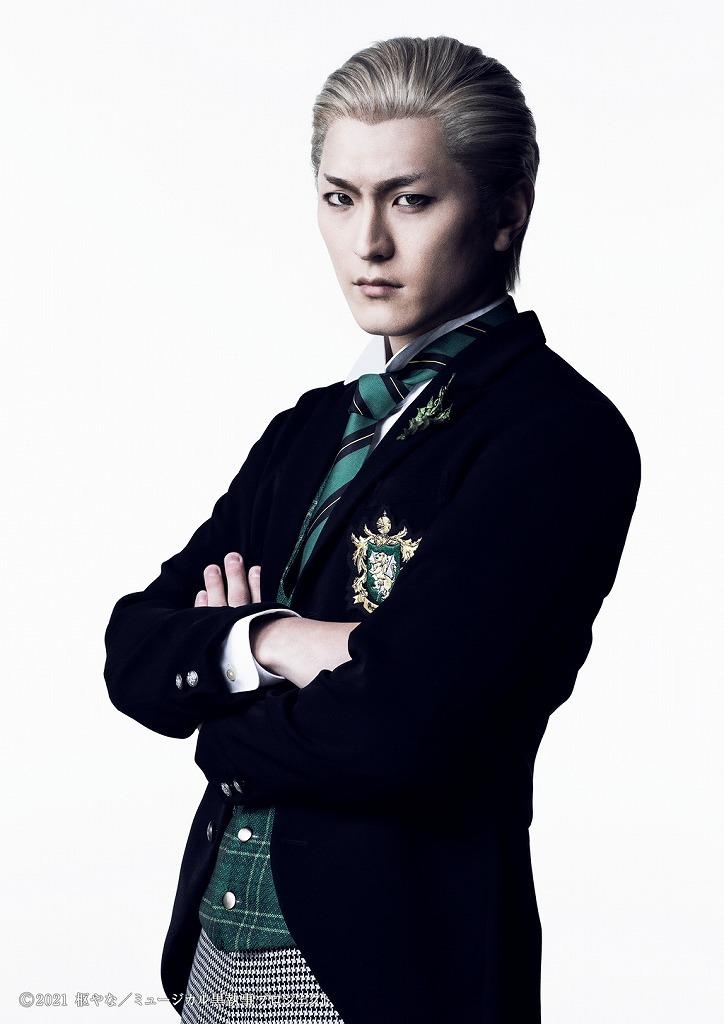 ハーマン・グリーンヒル 田鶴翔吾 (C)2021 枢やな/ミュージカル黒執事プロジェクト