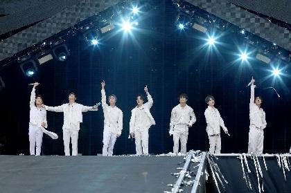 BTS 全世界62公演206万人を動員したワールドツアーから日本での初スタジアムライブを映像化