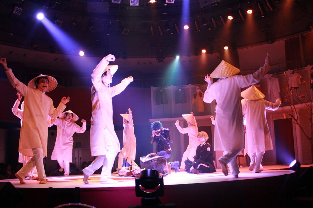 ©オノ・ナツメ/SQUARE ENIX・ACCA製作委員会 ©舞台ACCA製作委員会