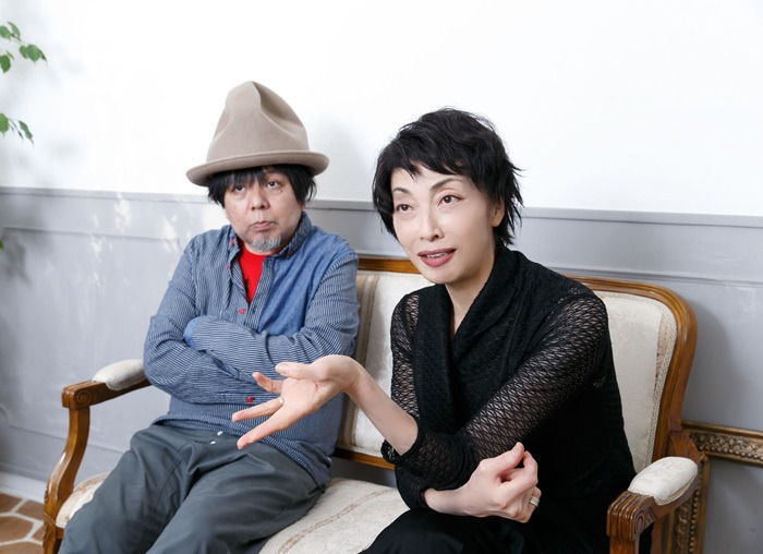 左:ケラリーノ・サンドロヴィッチ 右:麻実れい (撮影:坂野則幸)