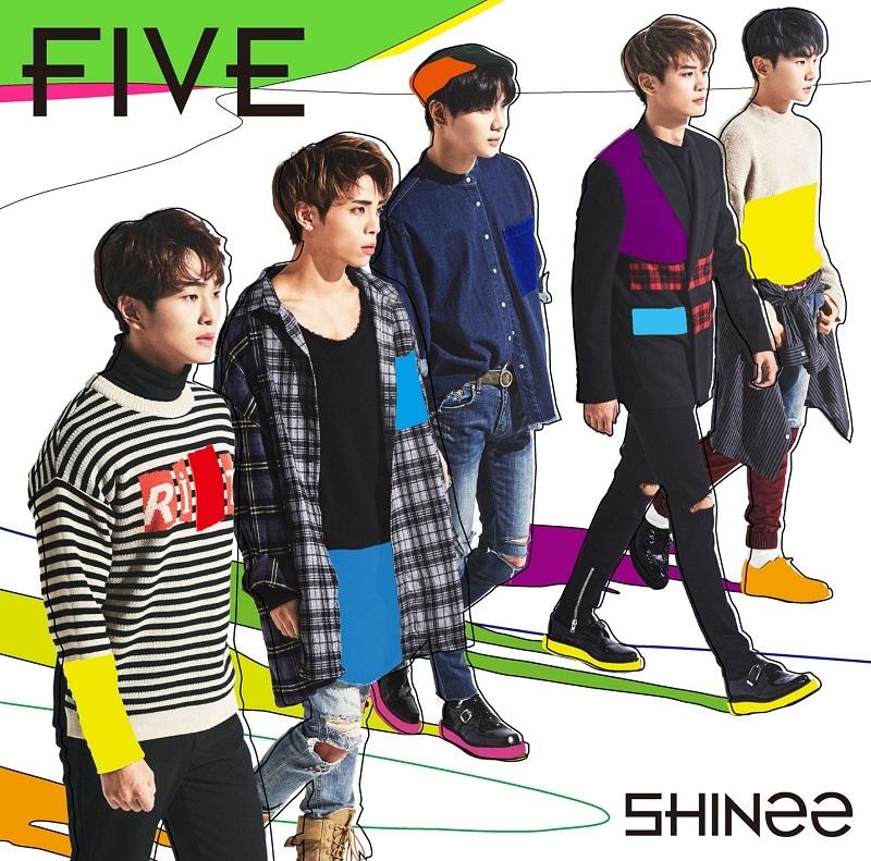SHINee「FIVE」通常盤
