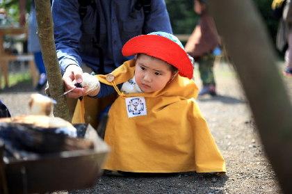 子どもが自然と接して体験&学ぶアウトドア体験イベントを国立昭和記念公園で開催