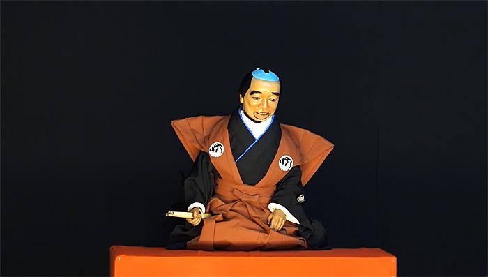 「図夢歌舞伎『忠臣蔵』第一回」口上人形=市川猿弥(©松竹)
