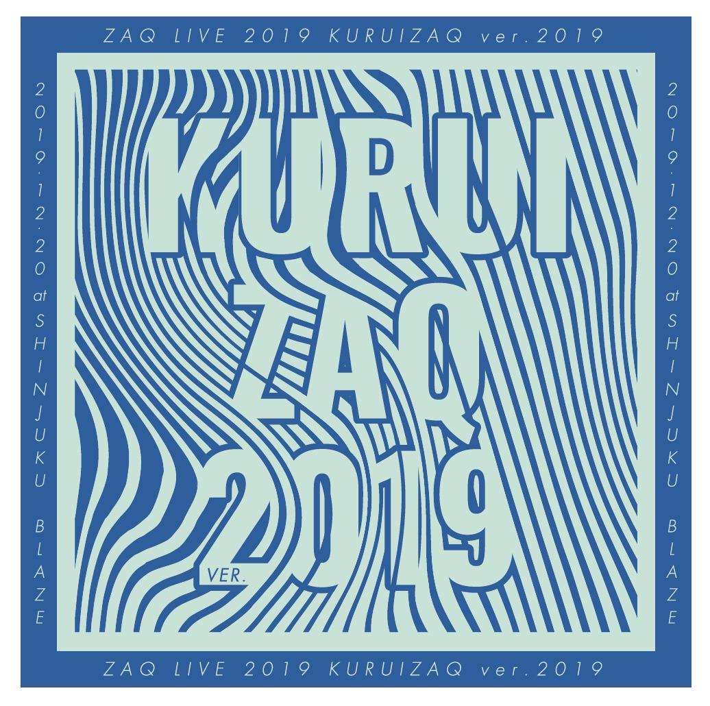 ZAQ LIVE 2019「KURUIZAQ ver.2019」ライブロゴ