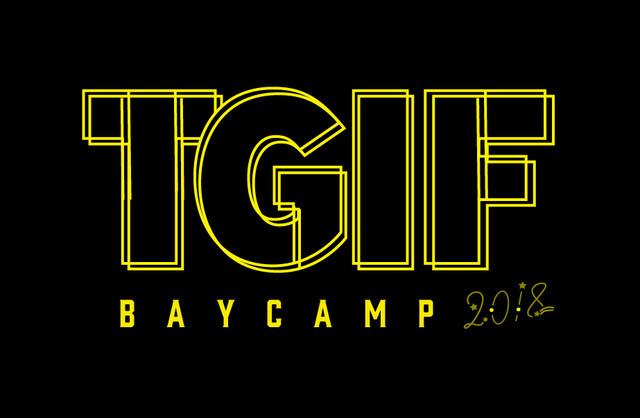 「BAYCAMP2018TGIF」ロゴ